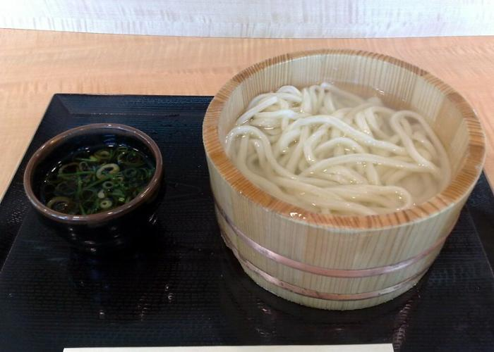 Kamaage Udon, MIyazaki prefecture specialty dish served in hot water