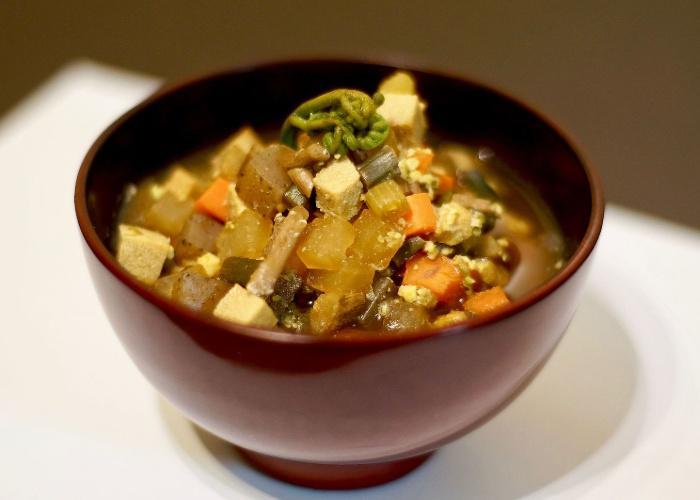 Kenoshiru, Aomori style soup