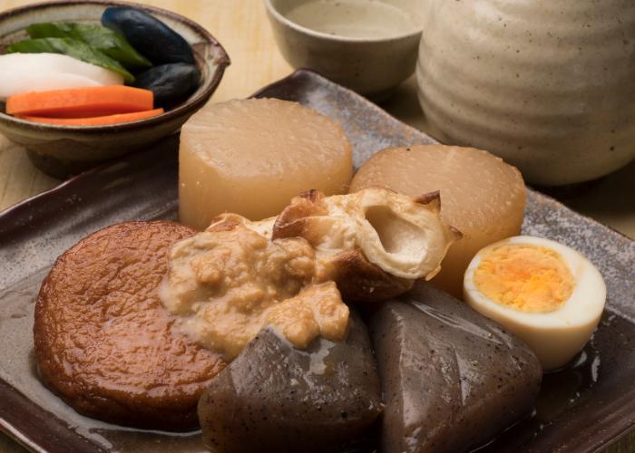 Aomori Prefecture's Miso Ginger Oden
