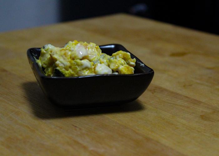 A classic Japanese Kabocha Salad