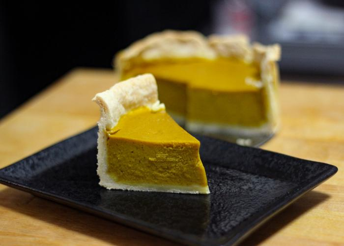 A Japanese take on an American classic, Kabocha Pie