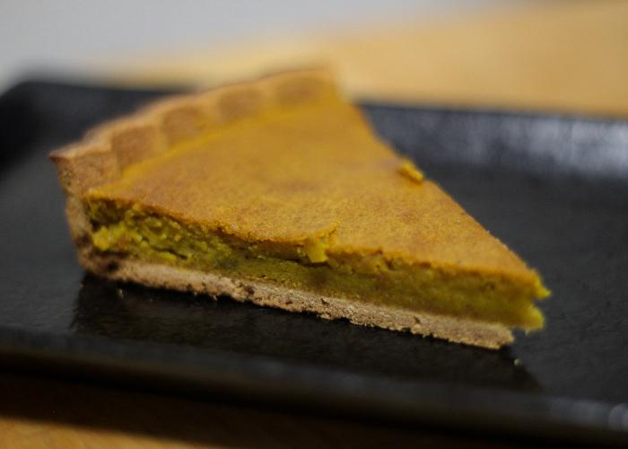 A shallow crust version of Kabocha Pie