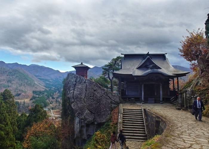 The view from Yamadera Temple
