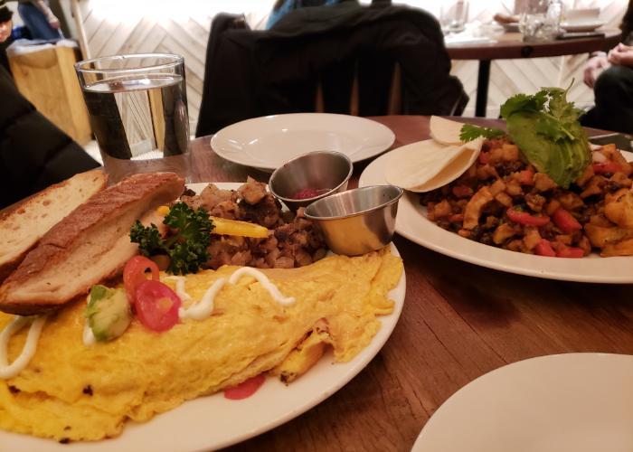 Breakfast at Blu Jam Cafe Azabu-Juban