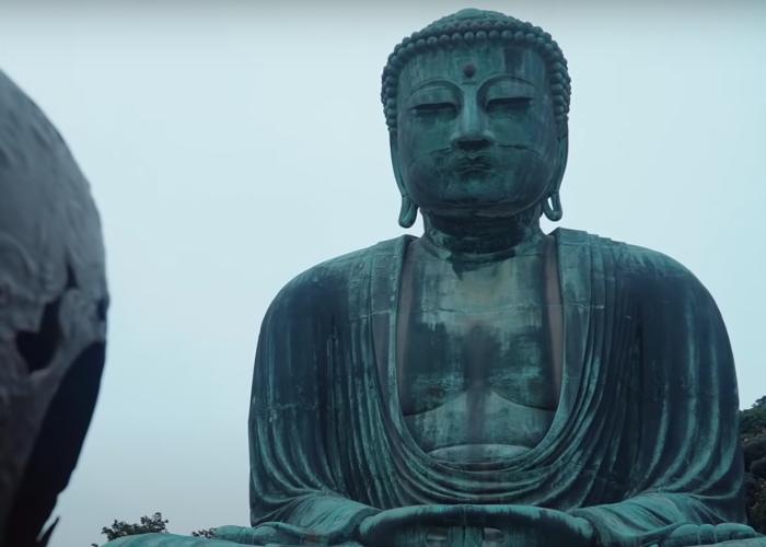 The Big Buddha in Kamakura