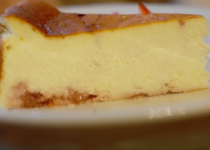 Leina's cheesecake at Cafe& BB guri in Ine, Kyoto