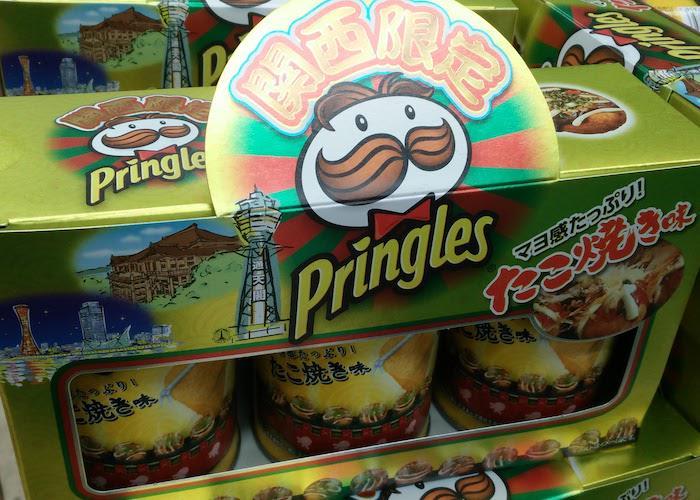 Takoyaki Octopus Ball flavored Pringles from Osaka in Donki Hote Department Store, Kansai Omiyage