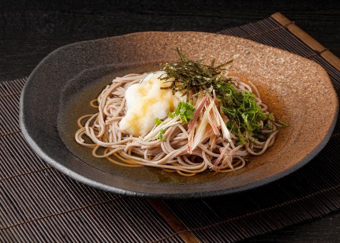 Echizen Oroshi Soba, soba topped with grated daikon radish