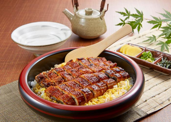 Hitsumabushi, a local unagi dish which is a specialty of Aichi prefecture