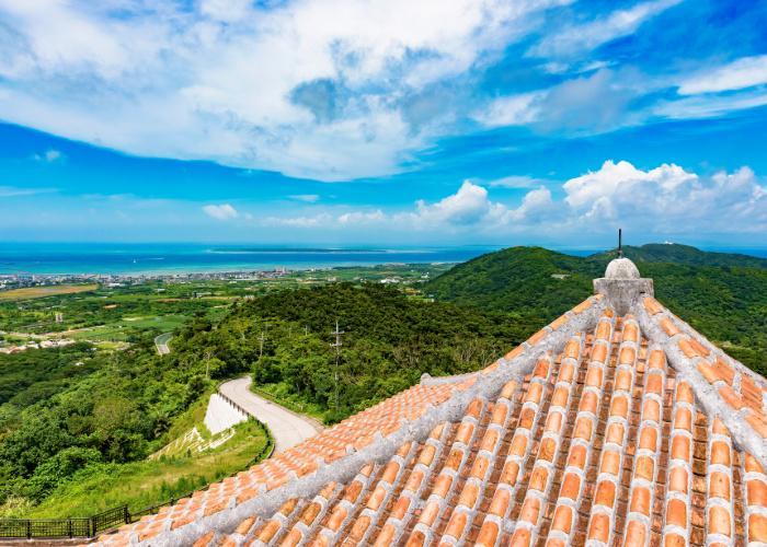 View of Ishigaki Island from Banna Park