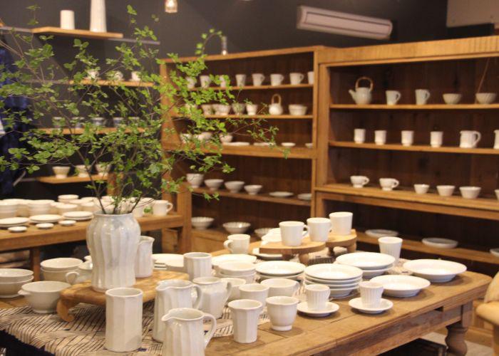 one corner of the ceramics shop sml