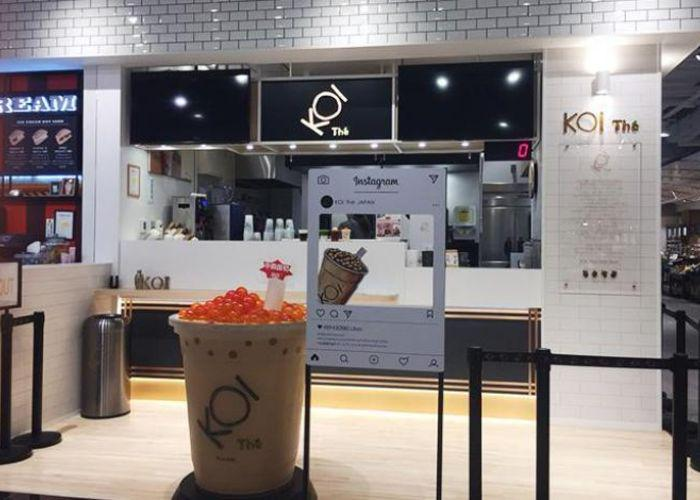 Storefront of Koi The