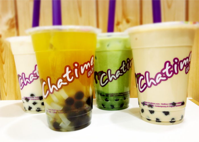 Bubble tea from Chatime