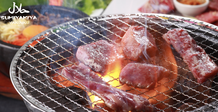 Grilled meat from  Sumiyakiya