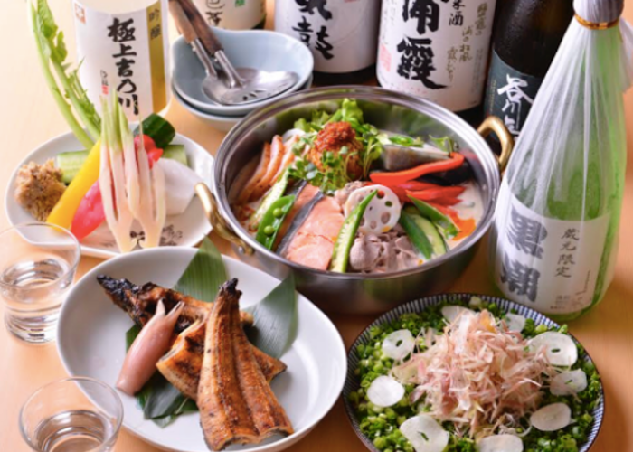 Chanko Kuroshio Drinks and Meal