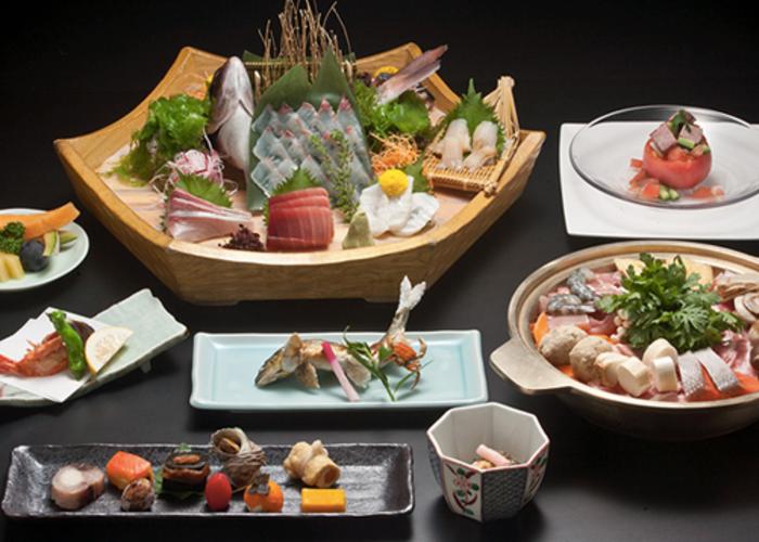 Dinner Set from Kappo Yoshiba