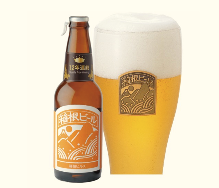 Hakone Craft Beer, which wins awards