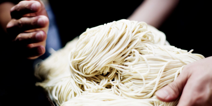 Handmade noodle from Menya Ittou