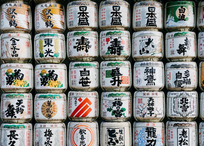 A lot of sake
