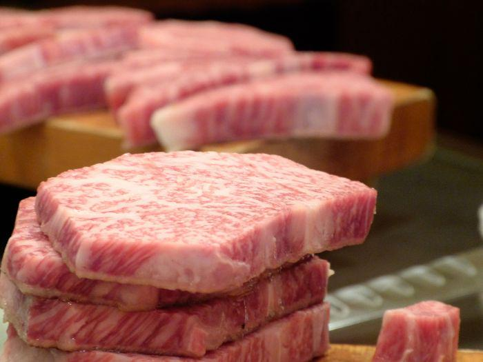 Kobe beef from Japan