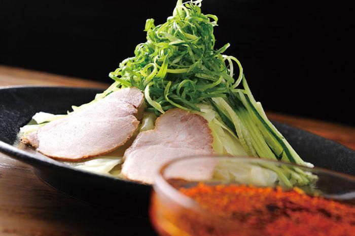 Spicy Tsukemen from Hiroshima, Japan