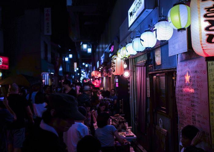 Keonji at night