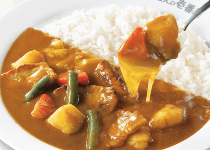japanese curry from Coco Ichibanya