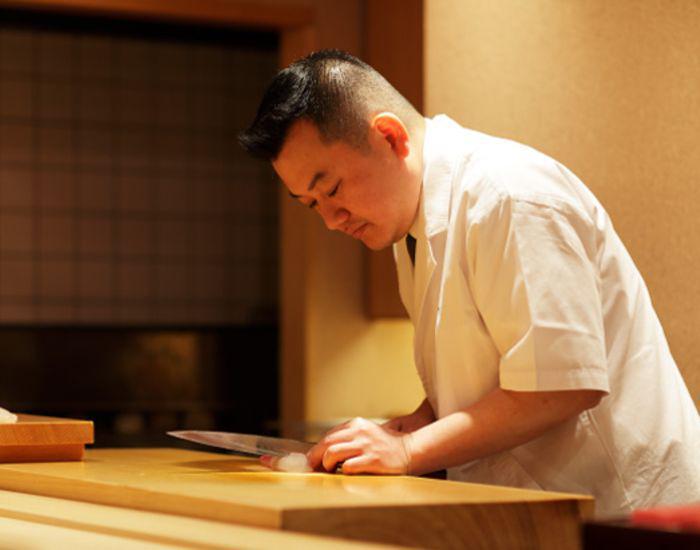 chef of Ginza Kojyu