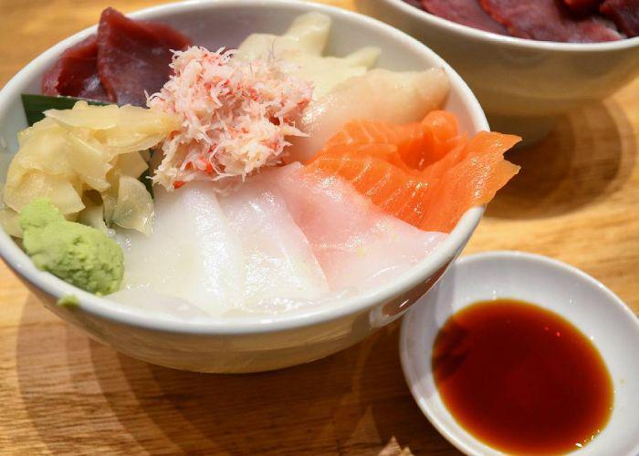 Seafood Donburi bowl