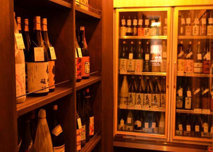 Sake in Sekeno Sanwa