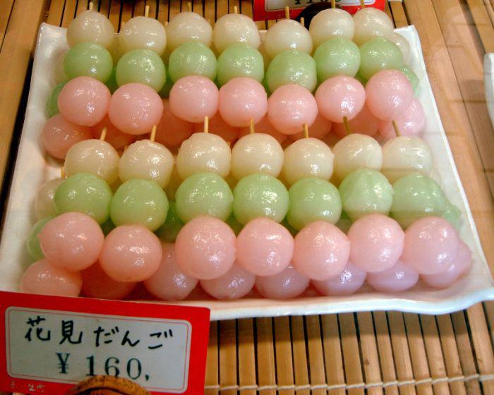 Dango for Hanami season