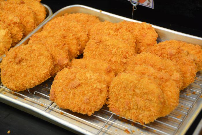 Many croquettes in Japan