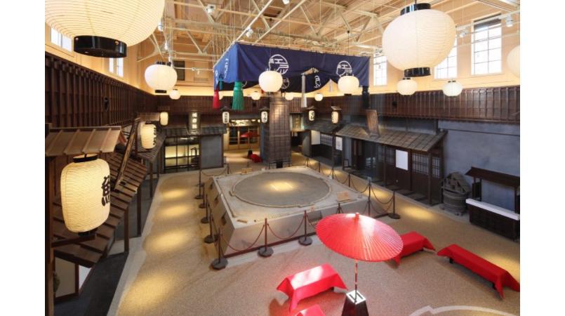 Edo-style interior