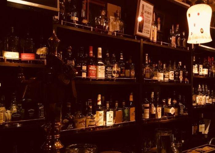 The bar of kenzo's Bar