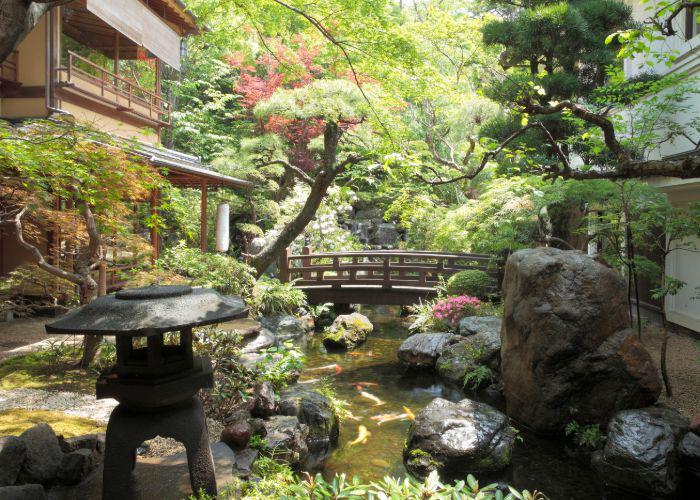 Garden of Toufuya Ukai
