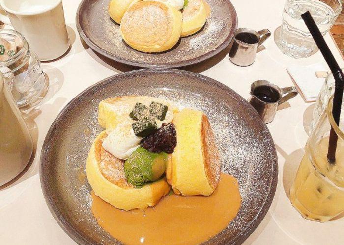 Flippers Tokyo pancakes