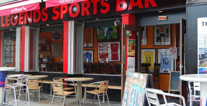 sports bar patio