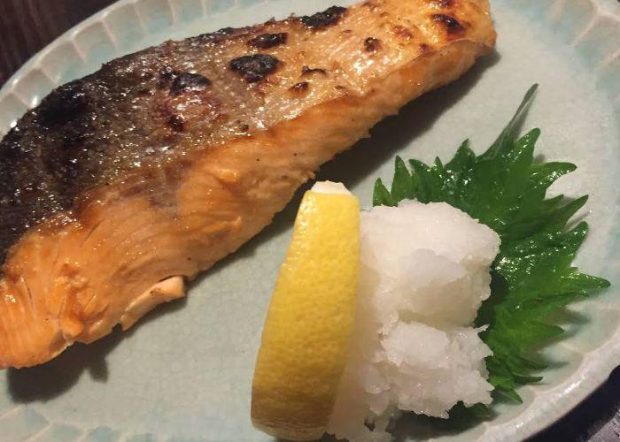 Salmon izakaya