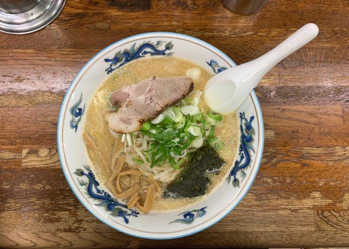 Traditional miso ramen from Aji No Karyu