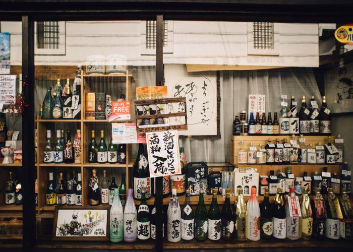 Different types of Japanese sake