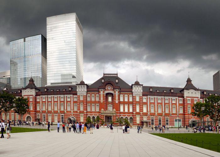 Exterior of Tokyo Station