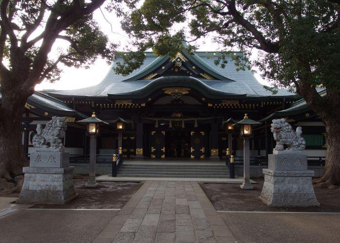 The Anahachimangu Shrine