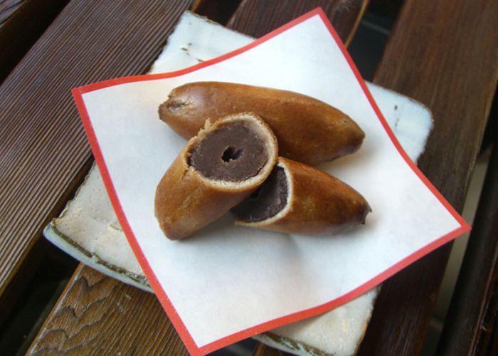 Satsuma-yaki from Kasuga-an, a sweets shop in Nara