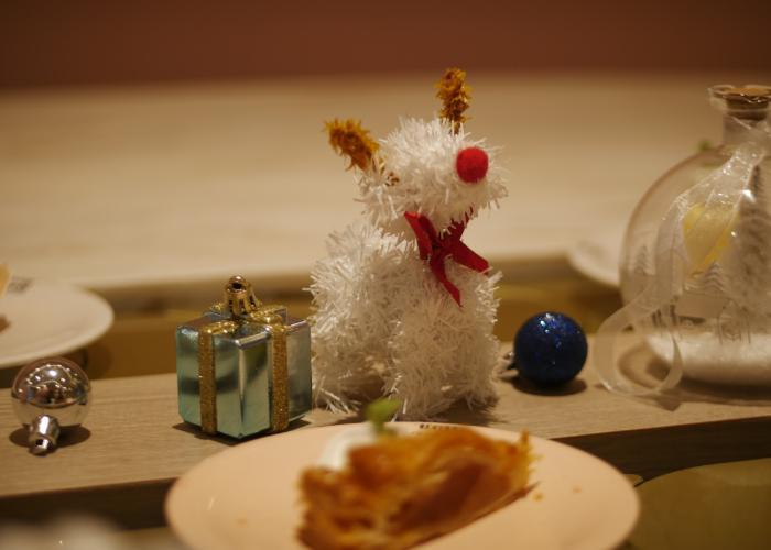 Little reindeer.