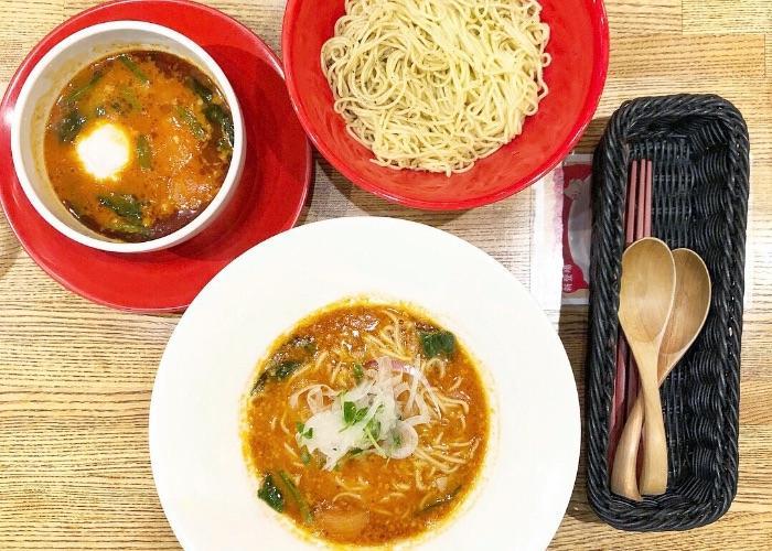 Tomato ramen from Makkana Ramentomako in Kobe