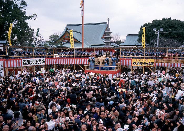 Setsubun Festival in Osaka