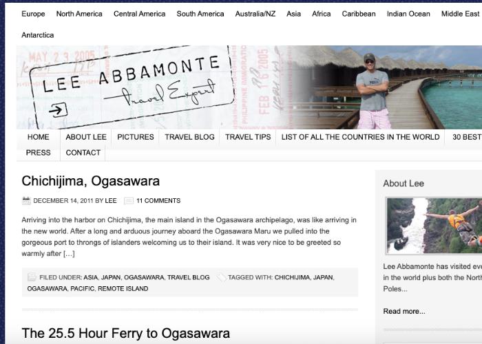 Lee Abbamonte Travel Blog Chichijima Ogasawara