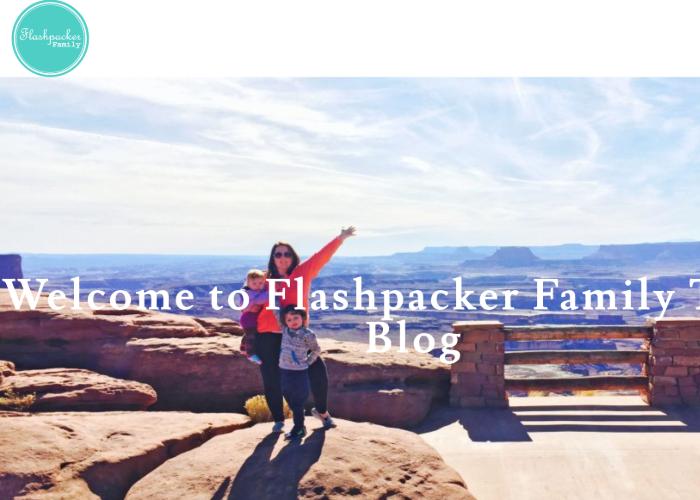 Flashpacker Familie's