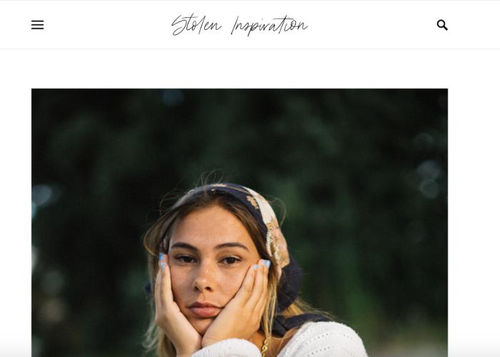 Stolen Inspiration's homepage