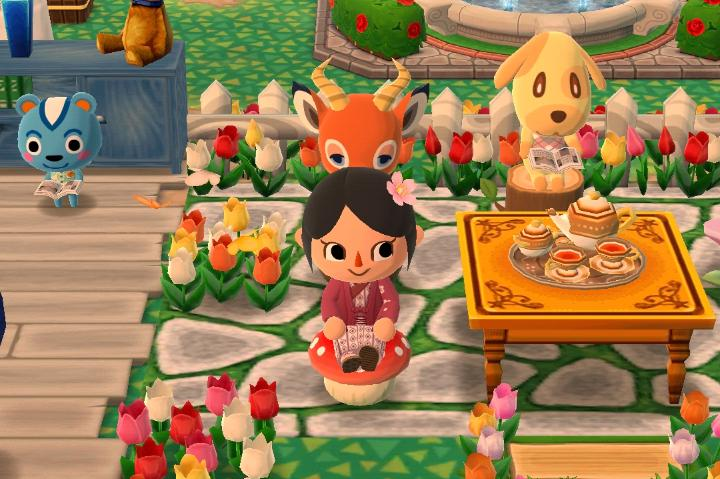 Screenshot from Animal Crossing Pocket Camp